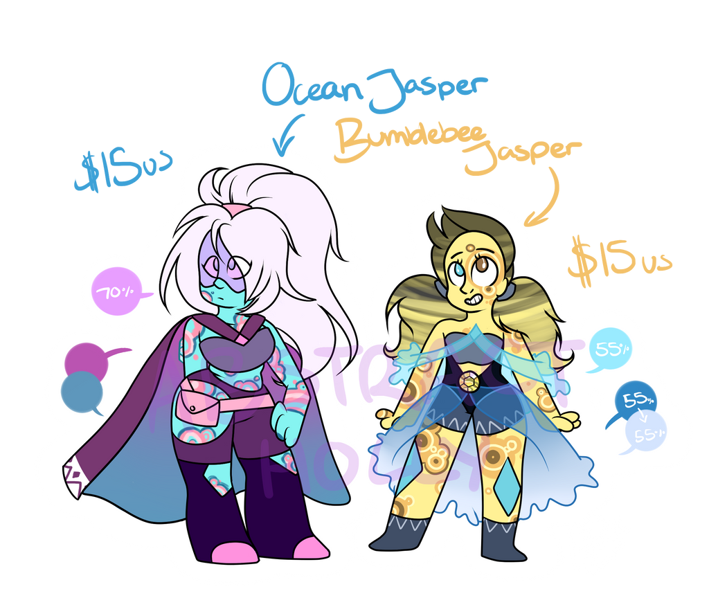 [open 1/2] $15 Jasper PAYPAL Adopts by AbstractHolly