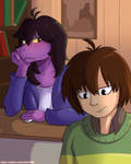 What are you thinking Susie? by Feital-Zebra