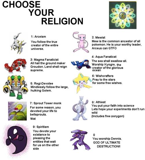 pokemon religions by alisteramelda on deviantart