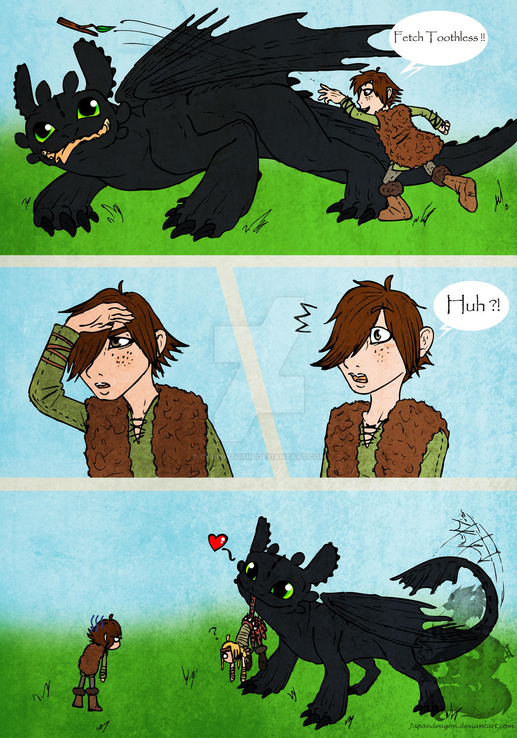 Fetch Toothless By Japandragon On Deviantart-9643