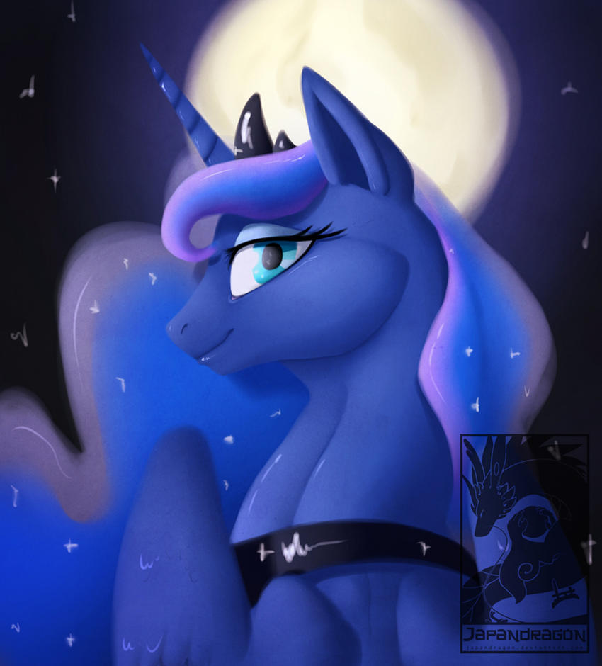 Princess luna by Japandragon
