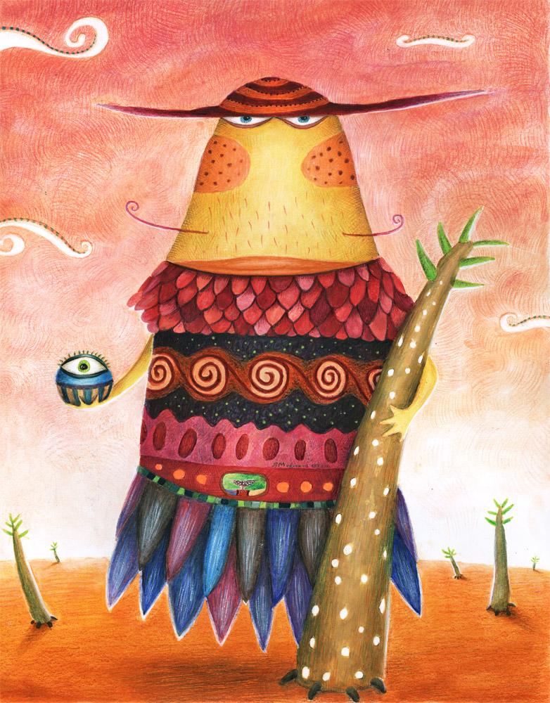 Agomo the wise by Mazhlekov