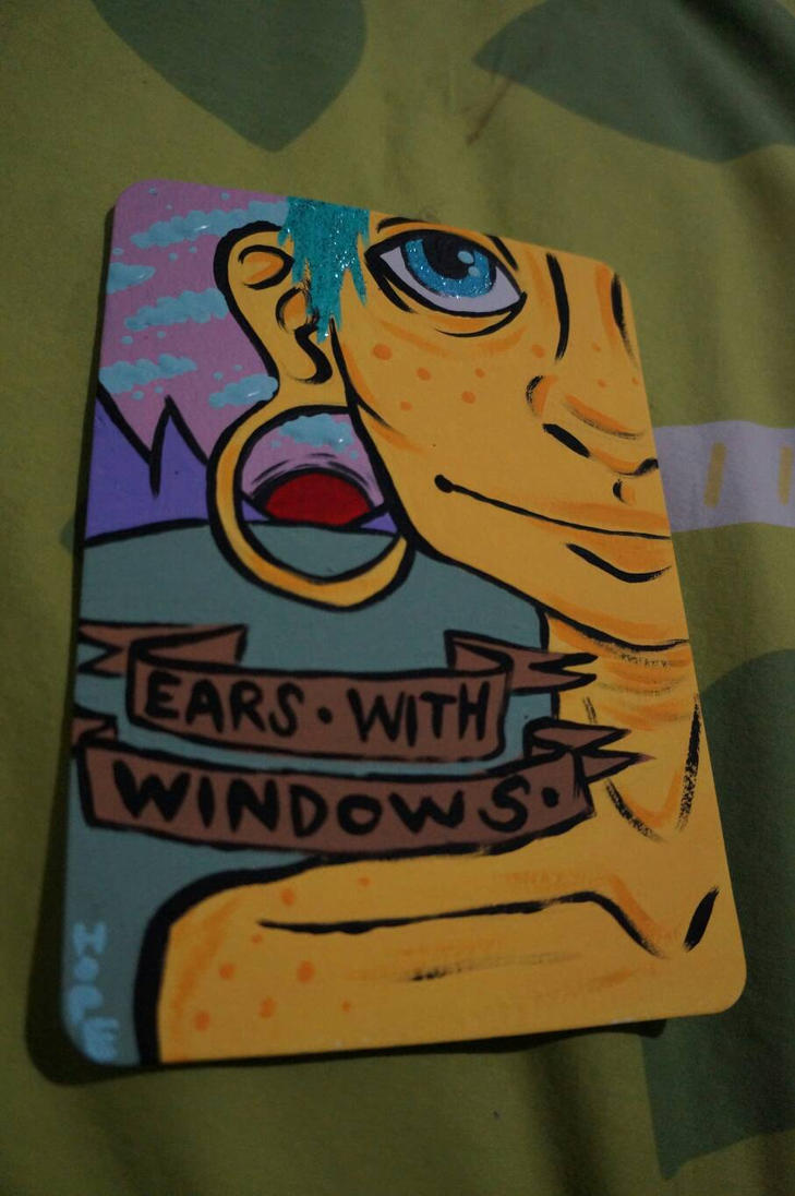 ears with windows by oij