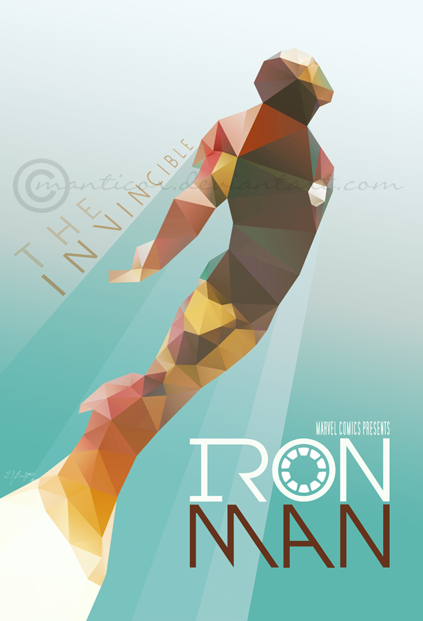Iron Man by manticor