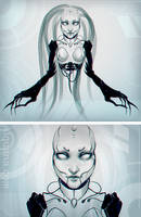 - cyber lich queen - by Alquana
