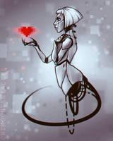 - 8 bit heart - by Alquana
