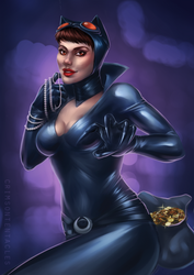- catwoman - by Alquana