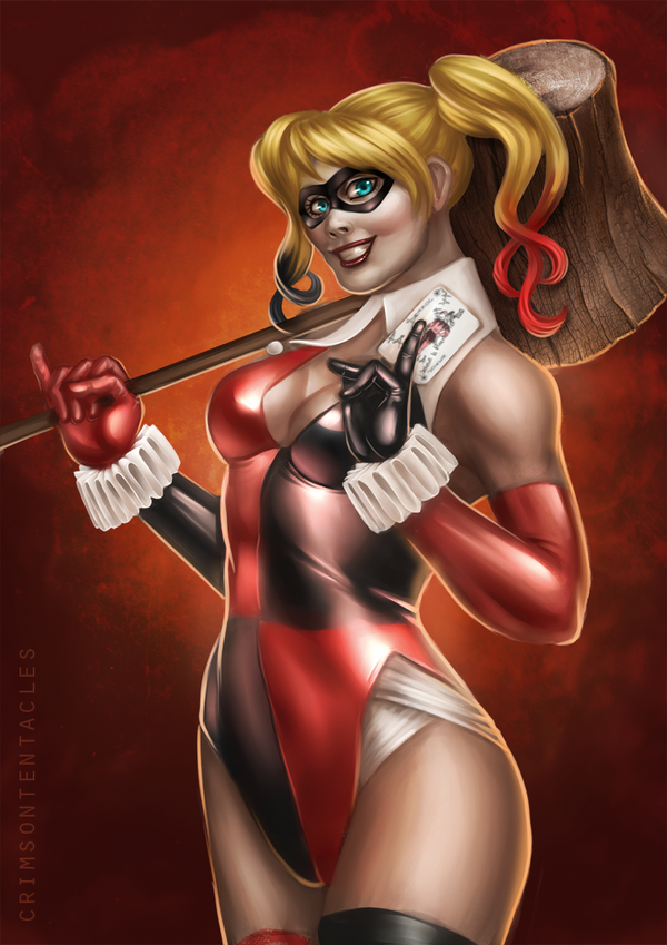 - harley quinn - by Alquana
