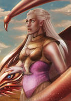 - mother of dragons - by Alquana