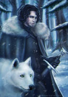 - jon snow - by Alquana