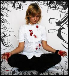 bloody yoga by Alquana