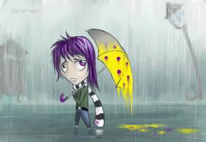- too emo for this umbrella - by Alquana