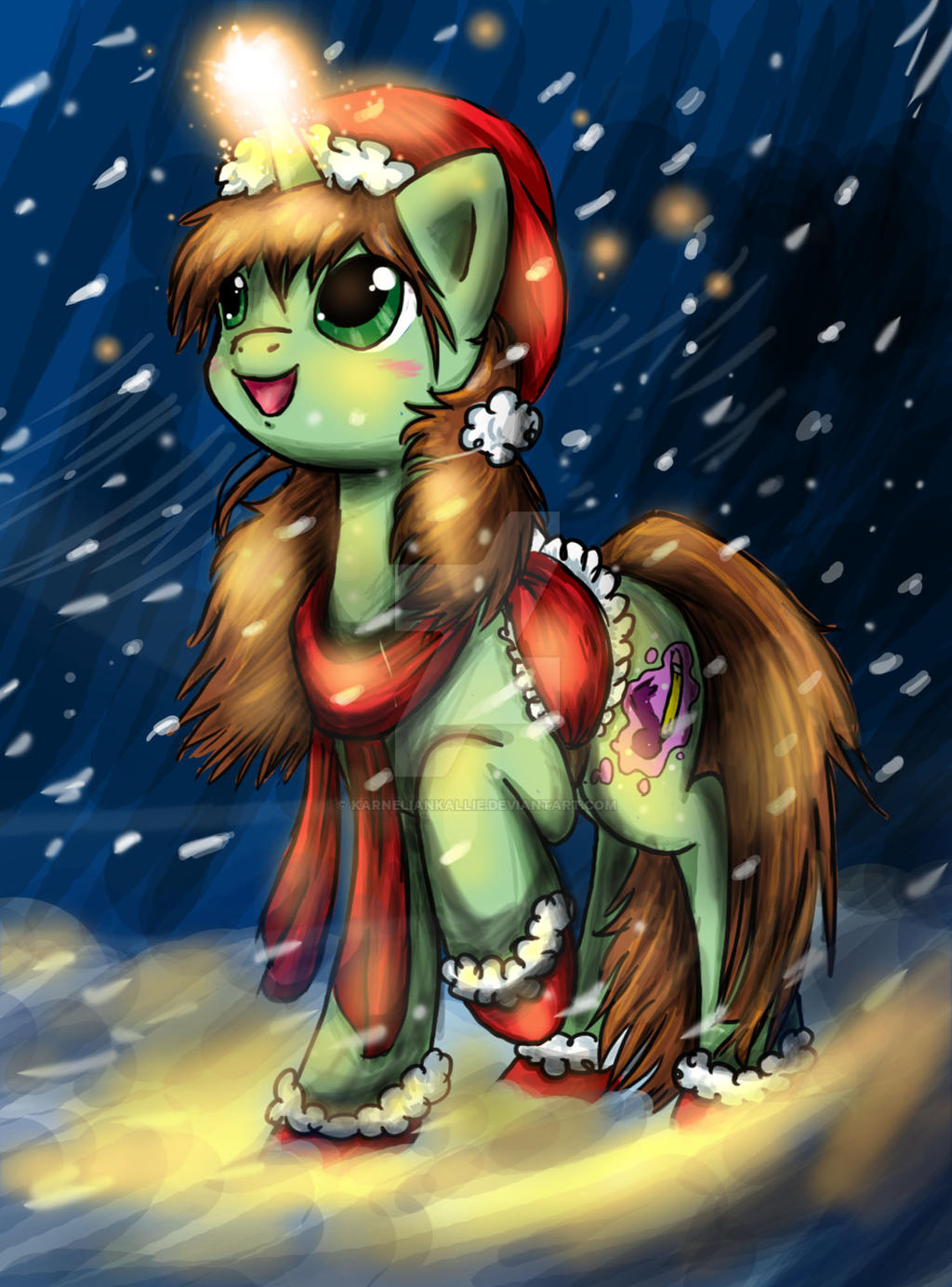 Suki CaramelDrop Christmas! by IfreakenLoveDrawing