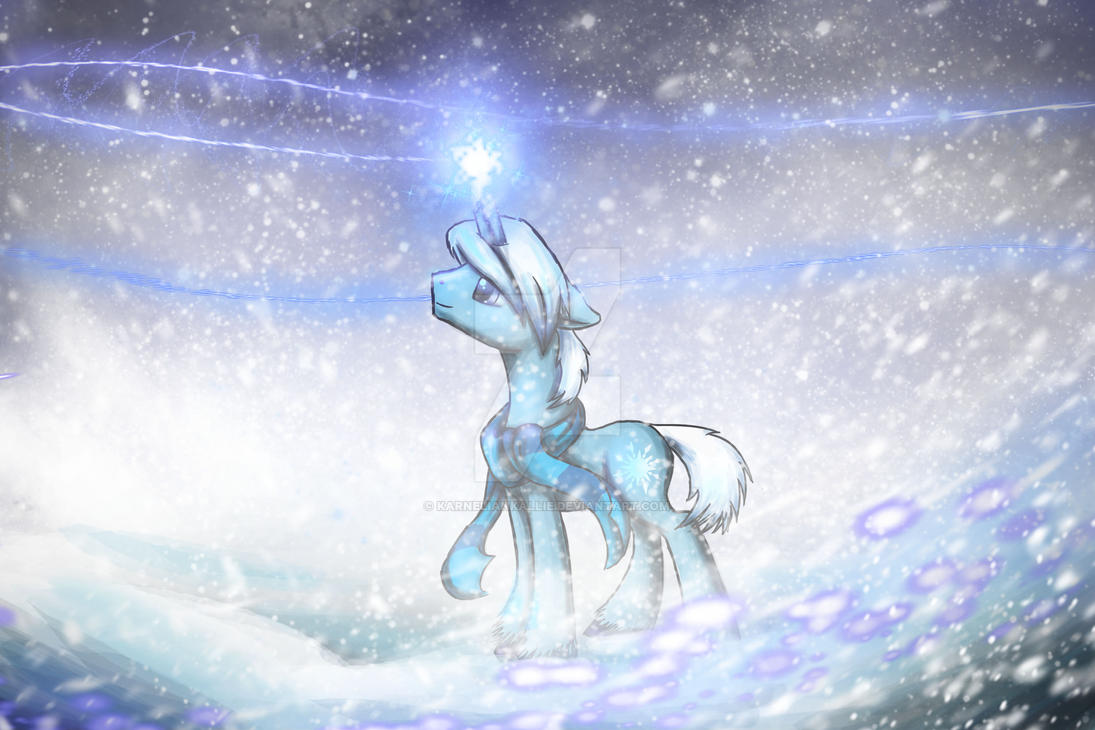 Winter Frost by IfreakenLoveDrawing
