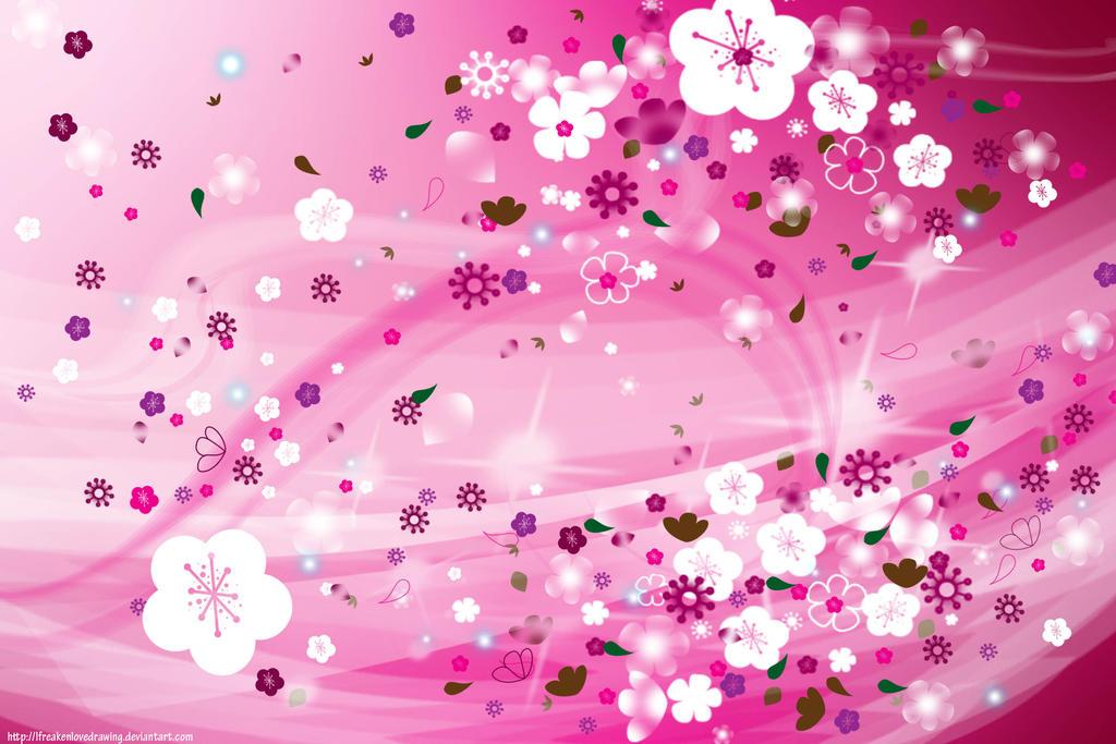 cherry blossom swirl by ifreakenlovedrawing on deviantart