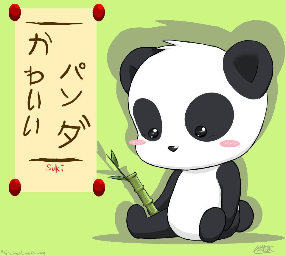 Kawaii panda by ifreakenlovedrawing on deviantart - Panda anime wallpaper ...