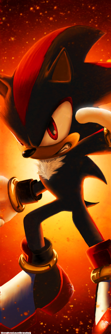 Shadow The Hedgehog by IfreakenLoveDrawing