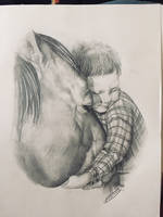 A Boy and his Horse by KarnelianKallie