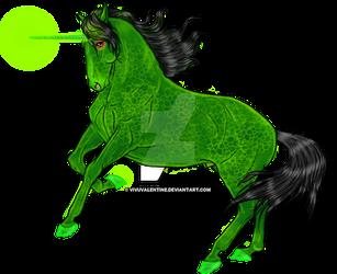 Emerald Dragon (sketch by Darya87) by VivuValentine