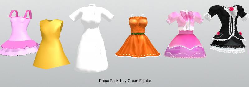 dresspack 1+DL by Sefina-NZ