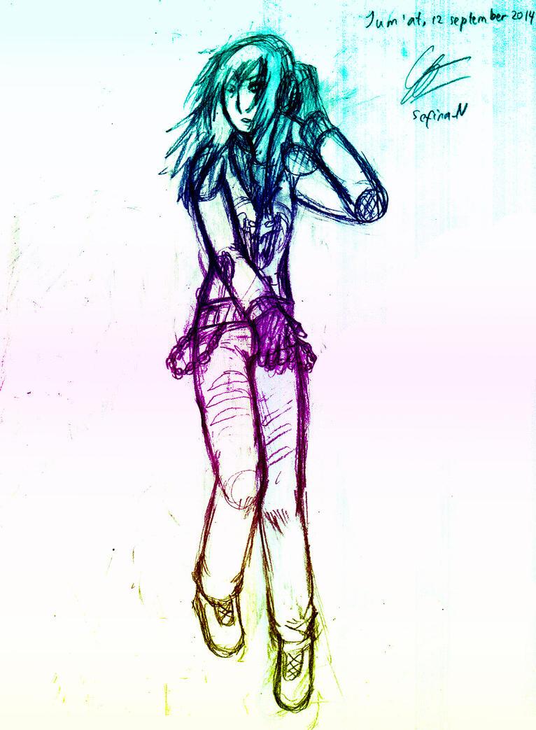 Sketch by Green-Fighter