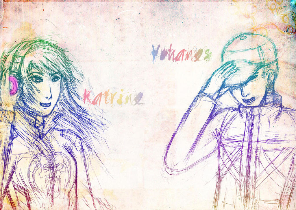 Katrine and Yohanes by Green-Fighter