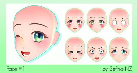 Face 1 + DL by Fina-Nz