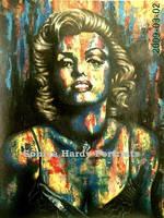 My Marilyn by Soniya-Hardy