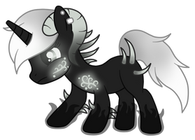 OC: Isra the Somnium Pony by SilverRomance