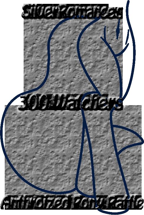 *CLOSED* ~300 Watchers Anthroized Pony Raffle~ by SilverRomance