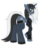 OC: Silver Romance the Unicorn by SilverRomance