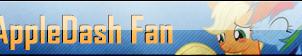 Fan Button: AppleDash Fan by SilverRomance