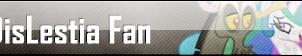 Fan Button: DisLestia Fan by SilverRomance
