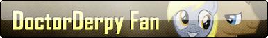 Fan Button: DoctorDerpy Fan by SilverRomance