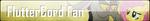 Fan Button: FlutterCord Fan by SilverRomance