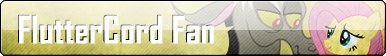 Fan Button: FlutterCord Fan by SilverRomance