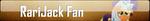 Fan Button: RariJack Fan by SilverRomance