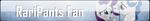 Fan Button: RariPants Fan by SilverRomance