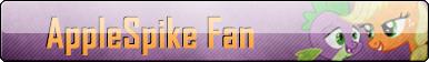 Fan Button: AppleSpike Fan by SilverRomance