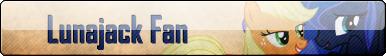 Fan Button: Lunajack Fan by SilverRomance