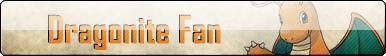Fan Button: Dragonite Fan by SilverRomance