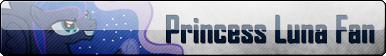 Fan Button: Princess Luna Fan