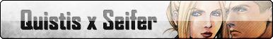 Fan Button: Quistis X Seifer by SilverRomance