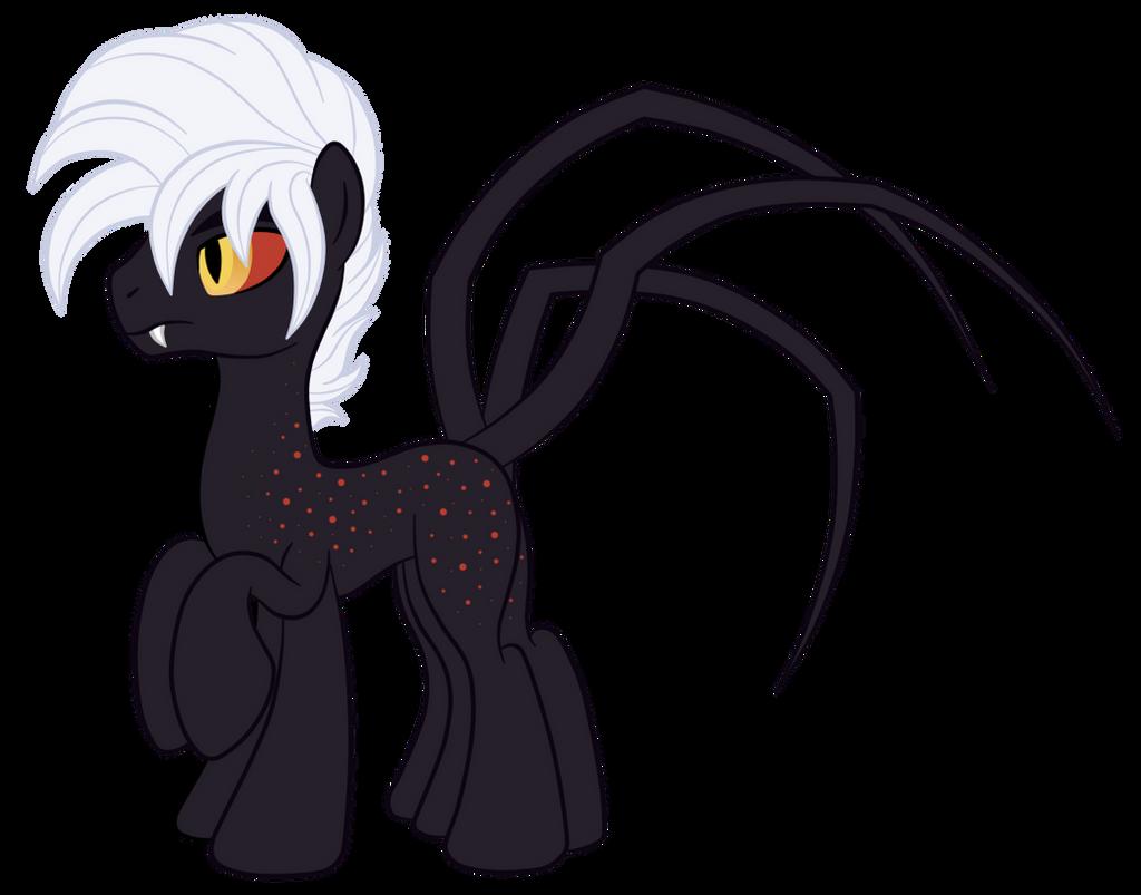Line Art Earth : Oc ref atritus the earth spider pony by silverromance on deviantart