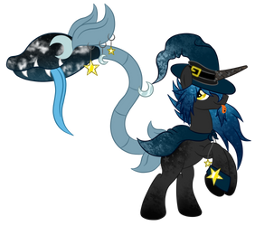 OC Ref: Evaris and Etoile the Plant Pony by SilverRomance