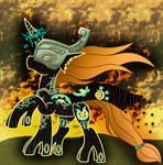 Commission: Crepuscula the Titan