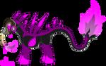 OC Ref: Acid Rain the Industrial Mutant Earth Pony