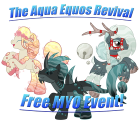 *GRACE PERIOD* ~ AQUA EQUOS MYO EVENT - REVIVAL ~ by SilverRomance