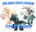 *GRACE PERIOD* ~ AQUA EQUOS MYO EVENT - REVIVAL ~ by SilverRomance