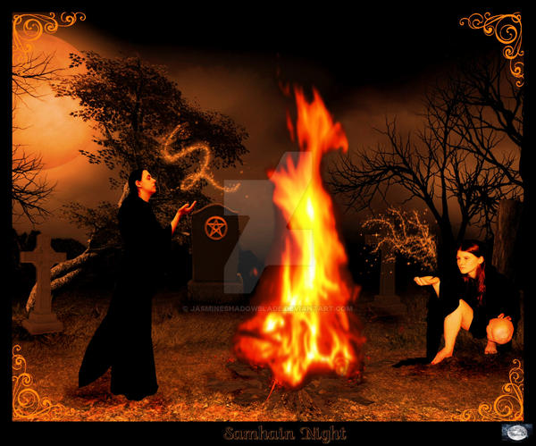 Samhain Night by jasmineshadowblade